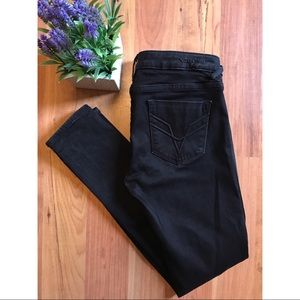 Nordstrom Vigoss The Chelsea Skinny Black Jeans